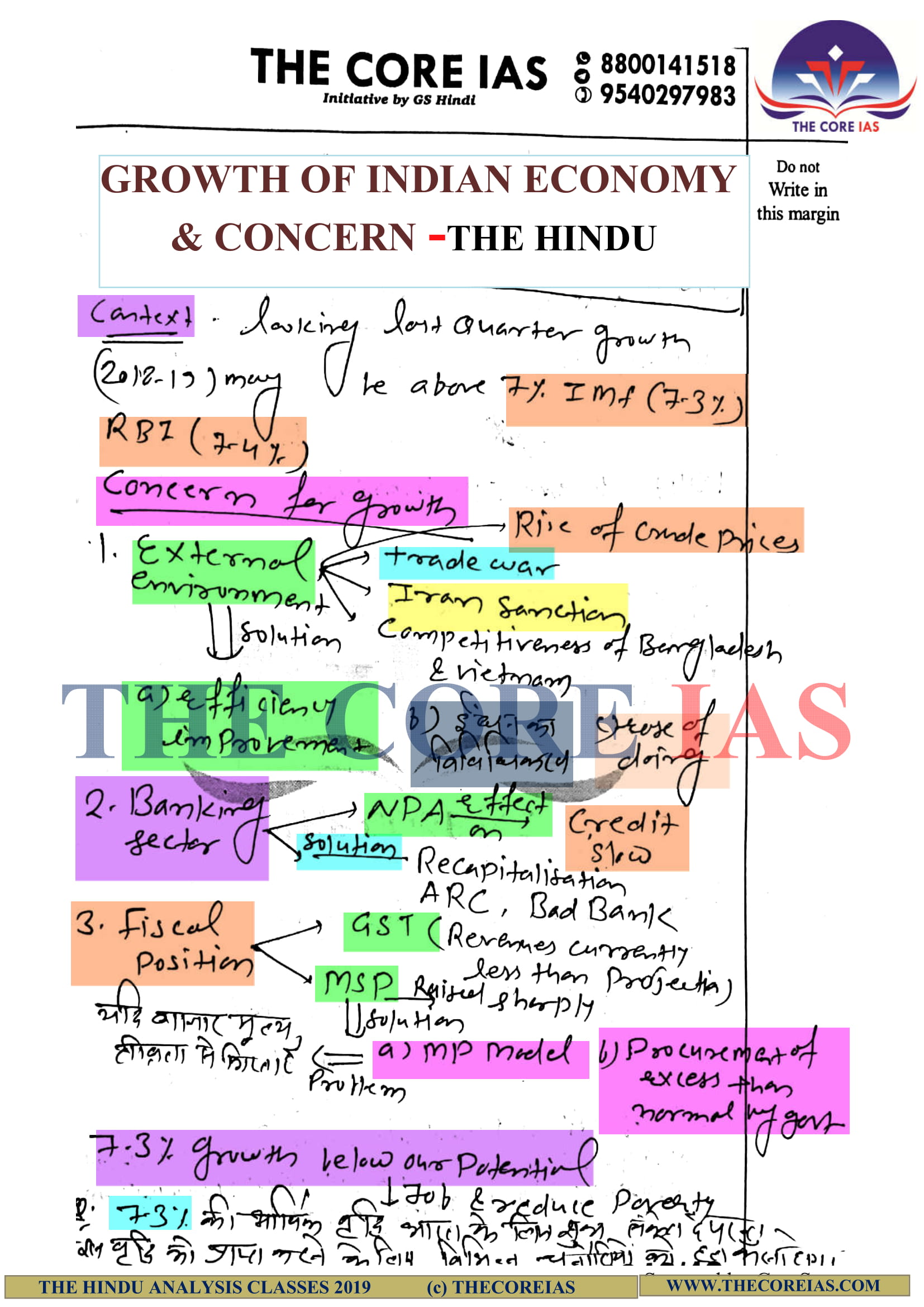 INDIAN ECONOMY 35A-2